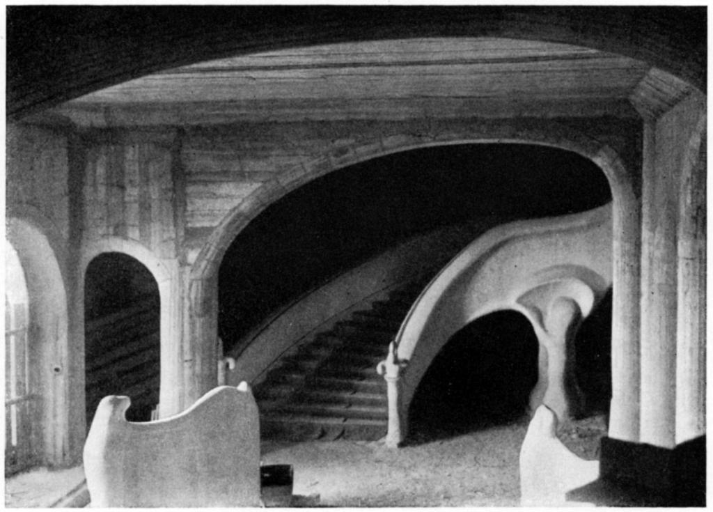 interior photos of rudolf steiner 39 s first goetheanum. Black Bedroom Furniture Sets. Home Design Ideas